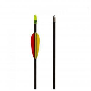 Flecha de fibra de vidrio